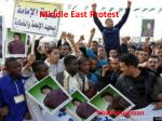 Middle East Protest