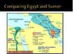Comparing Egypt and Sumer