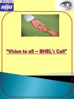 """Vision to all – BHEL's Call"""