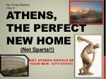 Athens, the perfect new home