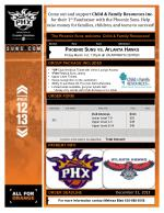 The Phoenix Suns welcome   Child & Family Resources!