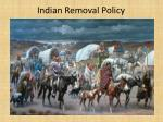 Indian Removal Policy