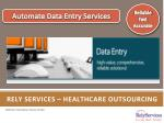 Rely services – Healthcare outsourcing