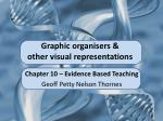 Graphic organisers & other visual representations