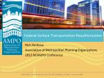 Federal Surface Transportation Reauthorization