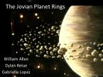 The Jovian Planet Rings