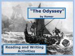 """The Odyssey"" by Homer"