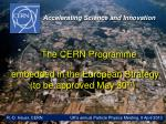 The CERN  Programme