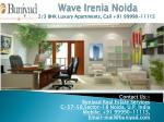 Service Apartments in Wave Irenia Sector 32 Noida
