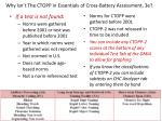 Why Isn't The CTOPP in Essentials of Cross-Battery Assessment, 3e?