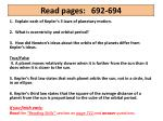 Read  pages:	 692-694