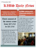 KIBS Daily News