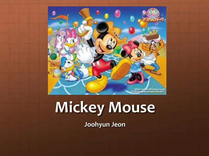 mickey mouse n.