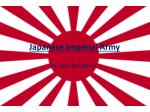 Japanese Imperial Army