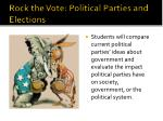 Rock the Vote: Political Parties and Elections