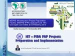 ACCELERATING IMPLEMENTION OF THE PIDA PAP