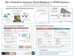 Non-Parametric Impulsive Noise Mitigation in OFDM Systems