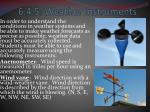 6.4.5: Weather Instruments