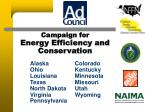 Campaign for Energy Efficiency and Conservation