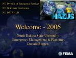 Welcome - 2006