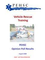 Vehicle Rescue Training