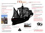 1.   What was the size of the crew of John Cabot's Matthew? …… 18