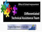 Differentiated Technical Assistance Team (DTAT)  Video Series