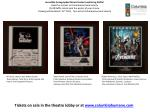 Incredible Autographed Movie Poster Fundraising Raffle!