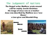 The Judgement of Nations