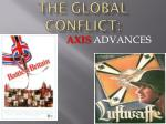 THE GLOBAL CONFLICT: