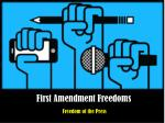 First Amendment Freedoms