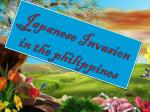 Japanese Invasion in the philippines