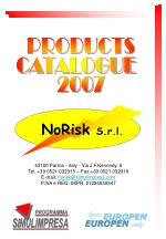 PRODUCTS CATALOGUE 2007