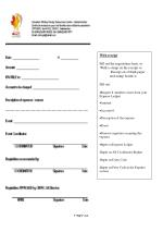 With receipt Fill out the requisition form, or With a stamp on the receipt or
