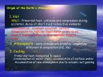 Origin of the Earth's Atmosphere