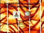 Breakout analysis using Fullbore Formation MicroImager images