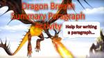 Dragon Breath Summary Paragraph Activity