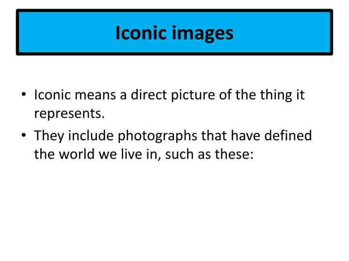 iconic images n.