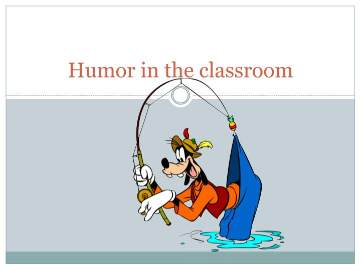humor in the classroom n.