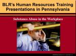 BLR's Human Resources Training Presentations in Pennsylvania