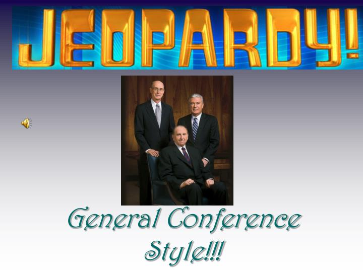 general conference style n.