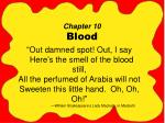 Chapter 10 Blood