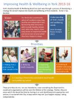 1. Making York a great place for older people to live