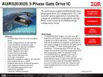 AUIRS20302S 3-Phase Gate Drive IC