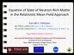 Equation of State of Neutron-Rich Matter in the Relativistic Mean-Field Approach