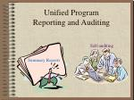 Unified Program Reporting and Auditing