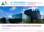COLLABORATION WITH INDUSTRY PARTNERS