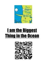 I am the Biggest Thing in the Ocean