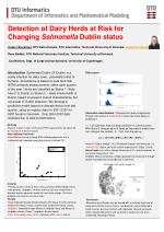 Detection of Dairy Herds at Risk for Changing Salmonella Dublin status