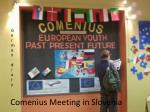 Comenius Meeting in Slovenia